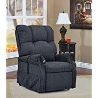 Medlift 1155DB Dawson Two-Way Reclining Lift Chair, Blue