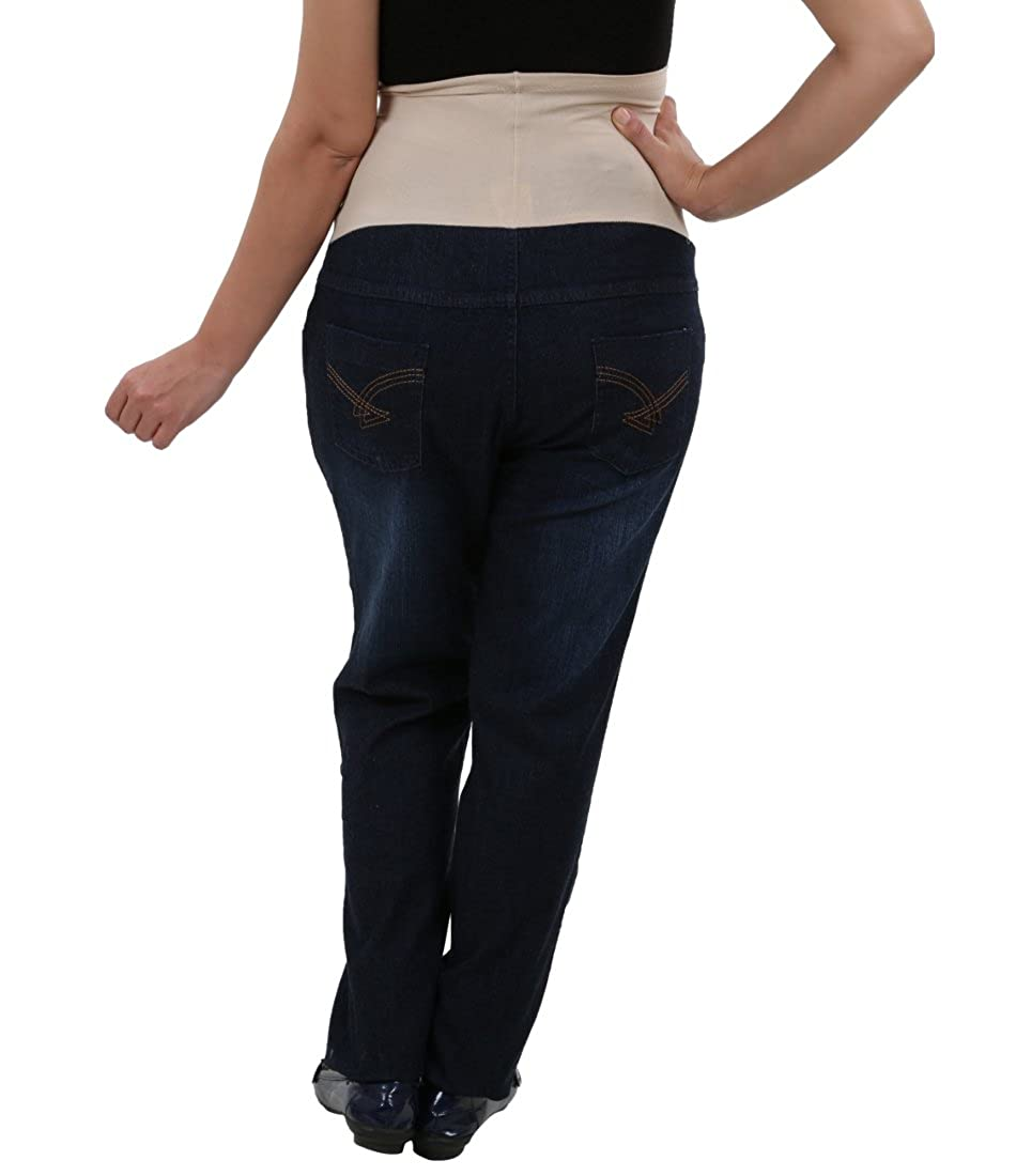 520777d1934df Kriti Western Maternity Jeans Blue: Amazon.in: Clothing & Accessories