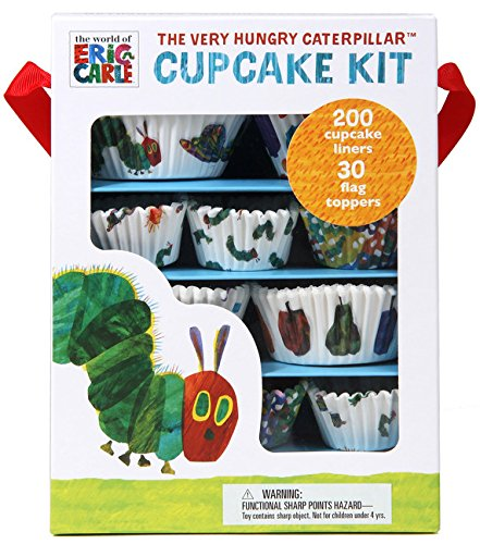 The World of Eric Carle(TM) The Very Hungry Caterpillar(TM) Cupcake Kit]()