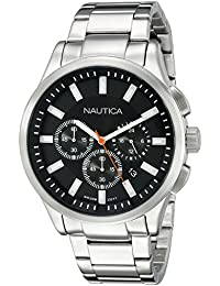 Mens NAD19532G NCT 17 Analog Display Quartz Black Watch