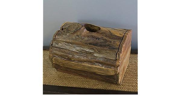 YUCH Toallero de madera, muebles para el hogar Hotel baño toalla de papel tubo higiénico WC baño cocina toalla Rack Box: Amazon.es: Hogar