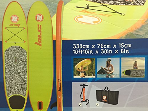 Z-Ray X2 10 8' Inflatable Stand-Up Paddleboard Set (Pump