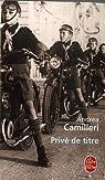 Privé de titre par Camilleri