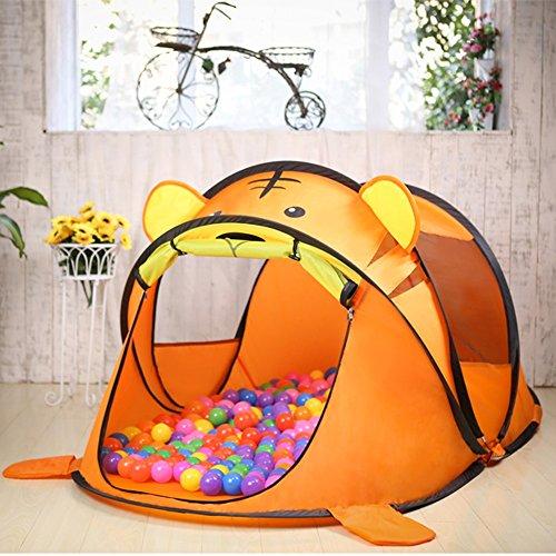 浸食投票数字家庭の照明- ポップアップ子供のゲームテント、小さな動物モデルオーシャンボールハウス屋内と屋外のおもちゃ182 * 96 * 76センチメートル(ギフトマリンボール) テント
