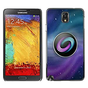 Estuche Cubierta Shell Smartphone estuche protector duro para el teléfono móvil Caso Samsung Note 3 N9000 N9002 N9005 / CECELL Phone case / / Logo Game Pc Gamer Gaming Ubuntu Stars /