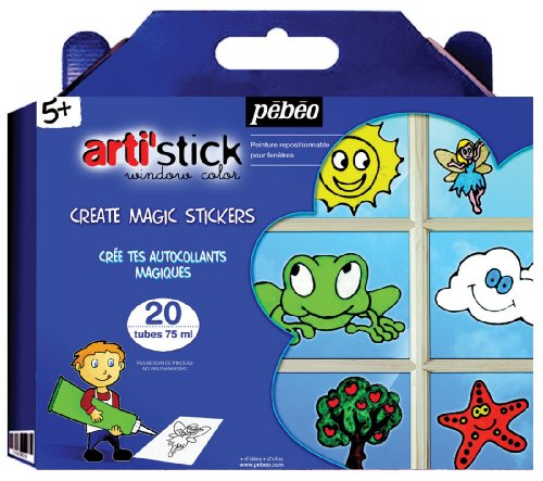 Arti'Stick Windowcolor Super Set of 20 Assorted 75ml Tubes