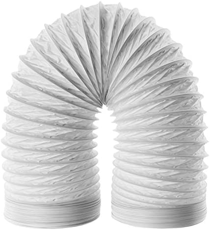 SPARES2GO Hose Pipe PVC Duct Extension Kit for Delonghi Air Conditioner (3m, 5