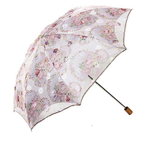 women-beige-folding-lace-parasol-sun-anti-uv-upf-50-umbrella-compact-travel-umbrella