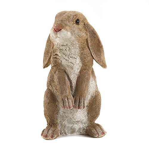 Bunny Garden (Eastwind Gifts 10016953 Curious Rabbit Garden Statue)