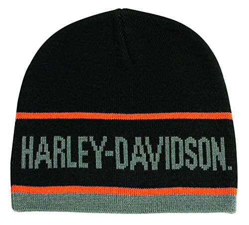 Harley Davidson Script Striped Knitted KNCUS027030