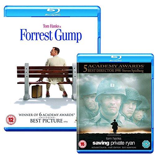 Forrest Gump - Saving Private Ryan - Tom Hanks - 2 Movie Bundling Blu-ray