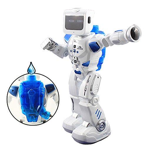 LE NENG K3 Robot Télécommandé - Marche, Parle, Tête Tremblante, Yeux Mobiles - Robot Hybride à Propulsion