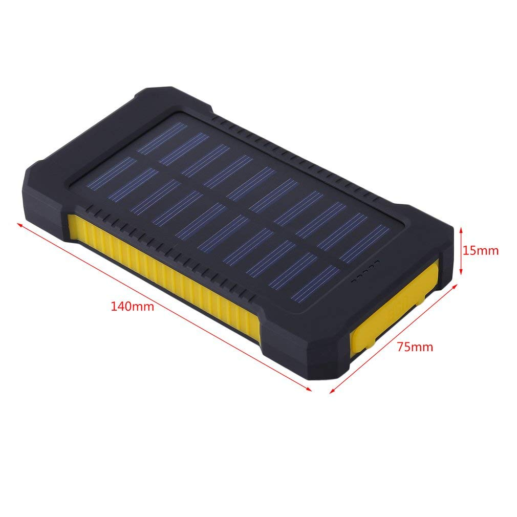 Amazon.com: Water-chestnut - Cargador solar para exterior ...