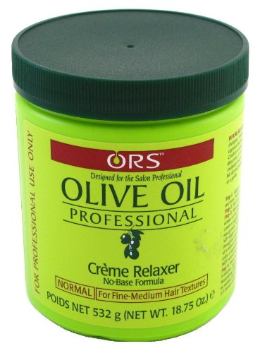 Relaxer / Glättungscreme Organic Root Stimulator Olive Oil Professional Creme Relaxer.