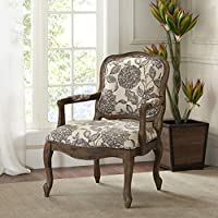 Monroe Camel Back Exposed Wood Chair Multi See below