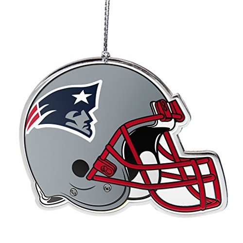 - NFL New England Patriots Flat Metal Helmet Ornament
