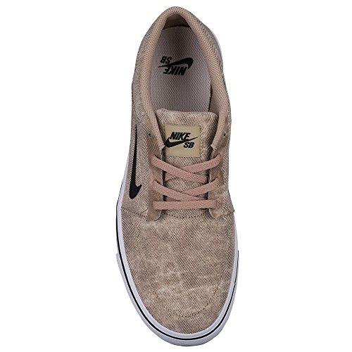 Nike SB Portmore Canvas Premium Herren Skateboardschuh Khaki / Schwarz / Leichter Knochen