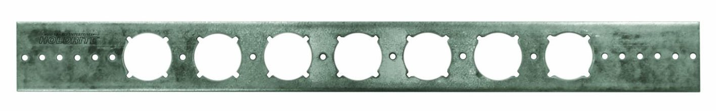 Holdrite 103-18 Galvanized Steel Support Bracket with 1-3/8-Inch Keyed Holes to be Integrated with No.701 or No.704 PEX Turnout, Pack of 50