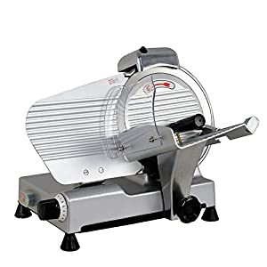 "Commercial Electric Meat Slicer 10"" Blade 240w 530 rpm Deli Food cutter TKT-11"
