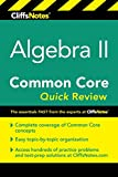 img - for CliffsNotes Algebra II Common Core Quick Review book / textbook / text book