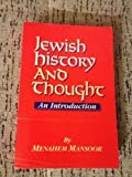 Jewish History and Thought 9780881254044