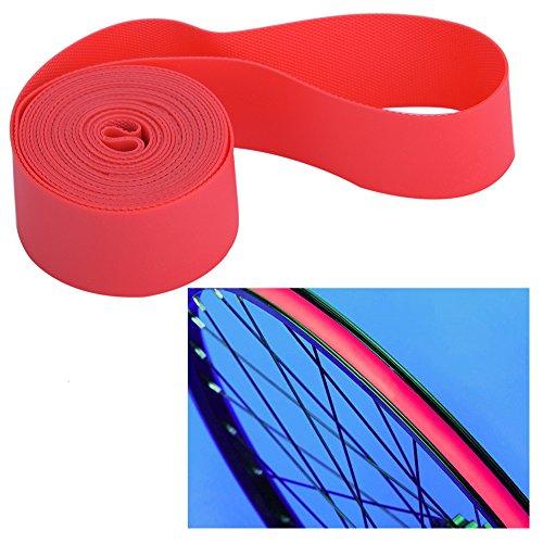 Mountain Bike Tire Liner, 2PCS/Set Bicycle Tire Tyre Inner Tube Tyre Protector Rim Strips Bike Tire Rim Strip Rim Tape Protection Pad Liner (700C /29inch)