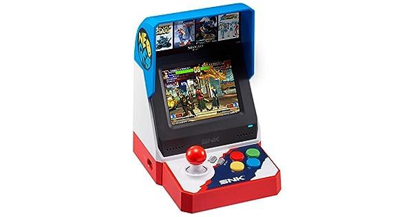 Snk Neo Geo Mini 40Th Anniversary Japanese Version: Amazon ...