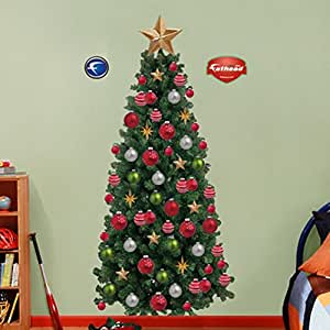 Amazoncom Fathead Christmas Tree Wall Graphic Home Kitchen