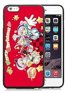 Customization iPhone 6 Plus Case,Merry Christmas Black iPhone 6 Plus 5.5 TPU Case 75