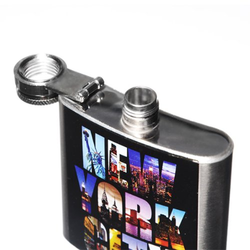 NY-NYC-New-York-City-Photo-Color-Hip-Flask