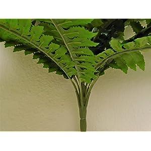 "Boston Fern Bush 29"" Leaves Artificial Silk Plant Greenery 30 - 5601GN 4"