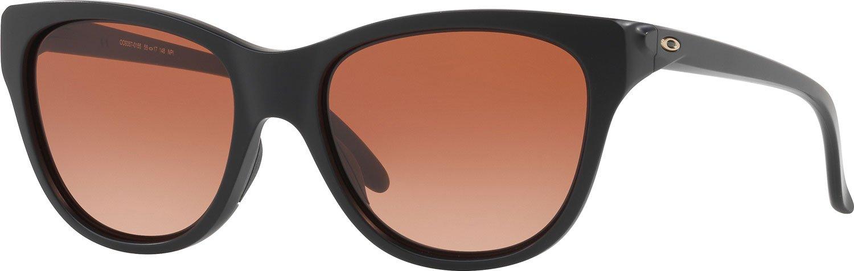 Oakley Women's Hold Out Cateye Sunglasses, Matte Black, 55.01 mm