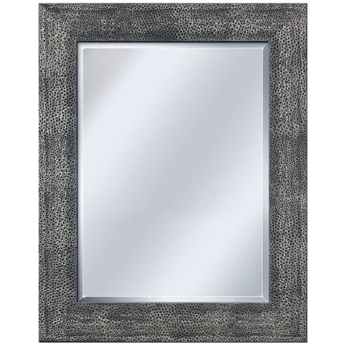 Head West Hammered Pewter Mirror, 28-1/2-Inch by 34-1/2-Inch