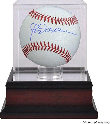Rod Carew Minnesota Twins Autographed Baseball and Mahogany Baseball Display Case - Fanatics Authentic Certified ()