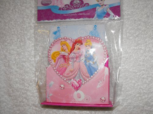 (Disney Princess or Tinkerbell Note Caddy (80 Sheet) Choose Below)