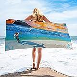 PhotoBeachTowel Skateboard Bigsurf Towel