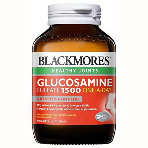 Blackmores Glucosamine Sulfate 1500mg 90tabs by Blackmores LTD