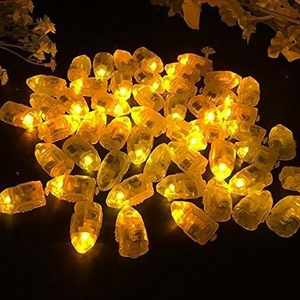 Amazon.com: Paquete de 50 luces LED para decoración de ...