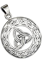 Celtic Triquetra Pendant Sterling Silver