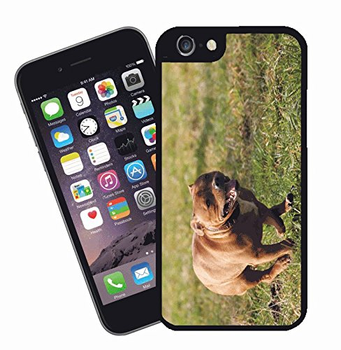 Staffordshire bull terrier phone case, design 8 - This cover will fit Apple model iPhone 7 (not 7 plus) - By Eclipse Gift Ideas