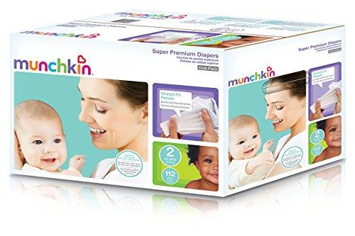 Munchkin Premium Diapers Stretch Medium
