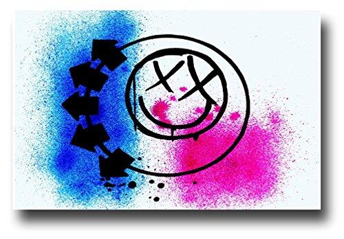 Concert Promoter Blink 182 Poster 11 x 17 inches MasterPrint Symbol