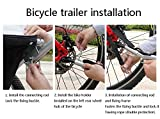 JAOK Universal Bicycle Trailer Hitch,Bike Trailer