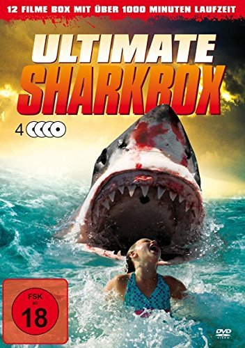 Ultimate Sharkbox - 12 Filme auf 4 DVDs incl. Sharknado Alemania ...