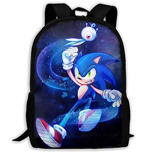 Ding Hao 88 Boys Girls So_Nik_Hedge School Bag Backpack Bookbag College Shoulder Bag for Travel