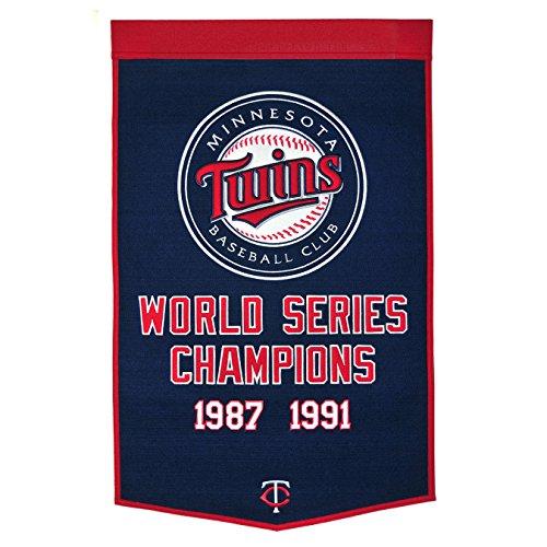 MLB Minnesota Twins Dynasty Banner