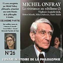 Contre-histoire de la philosophie 26.2