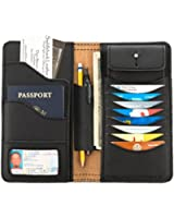 Saddleback Leather Co. Big Leather Bifold Wallet Organizer RFID-Shielded Includes 100 Year Warranty