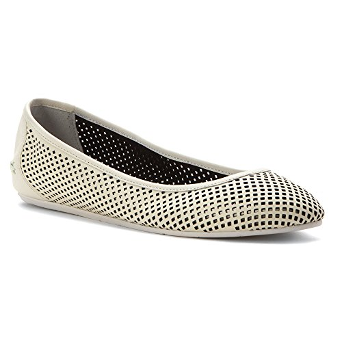 Lacoste Womens Cessole 216 1 Ballet Flat Off White