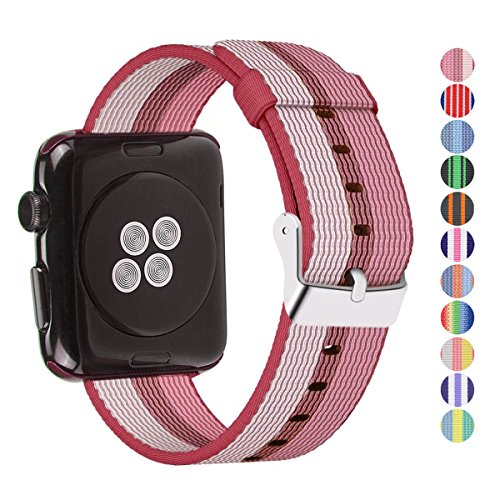 Pantheon Compatible Apple Watch Band 38mm 40mm Nylon - Compatible iWatch Bands/Strap for Women or Men Fits Series 4 3 2 1 ()